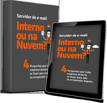 Servidor de email na nuvem o ou Servidor de email interno