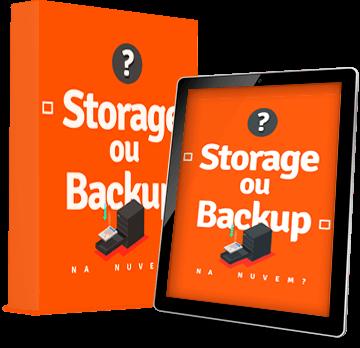 Armazenar arquivos na nuvem: Storage Backup
