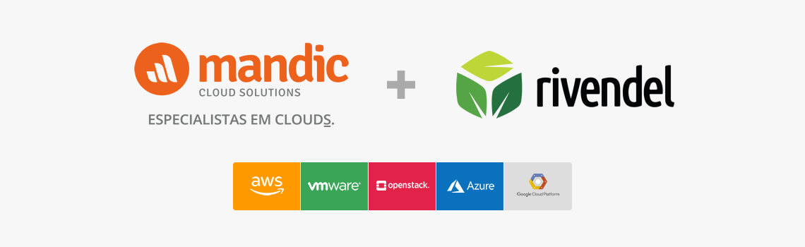 Mandic Cloud + Rivendel: Especialistas em Cloud