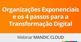 Organizações Exponenciais e os 4 passos para a Transformação Digital