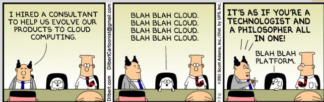 Dilbert cloud