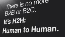 Um mundo de pessoas, não de coisas