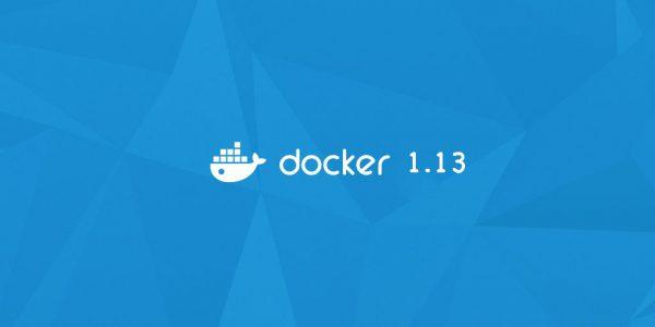 Docker 1.13