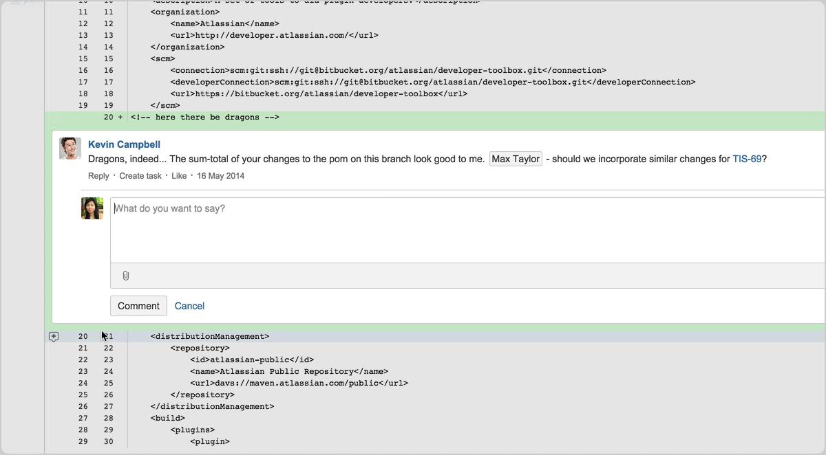 Pull Request revisão de código